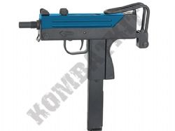 Well G11 MAC11 SMG Replica Gas Blowback Airsoft BB Machine Gun 2 Tone Blue Black Metal